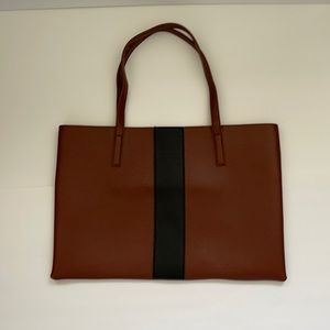 Vince Camuto Market Tote with Bold Stripe